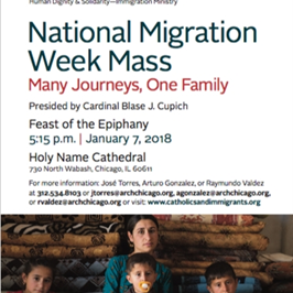 National Migration Week Mass | January 7, 5:15 pm