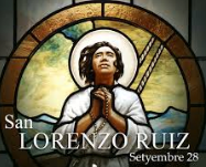 San Lorenzo Ruiz Feast Day | September 28 @ 6pm