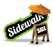 Sidewalk Sale | September 29 & 30